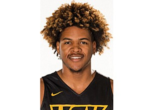 At least on the basketball floor, Virginia Commonwealth University's Justin Tillman has double the appetite of most others.