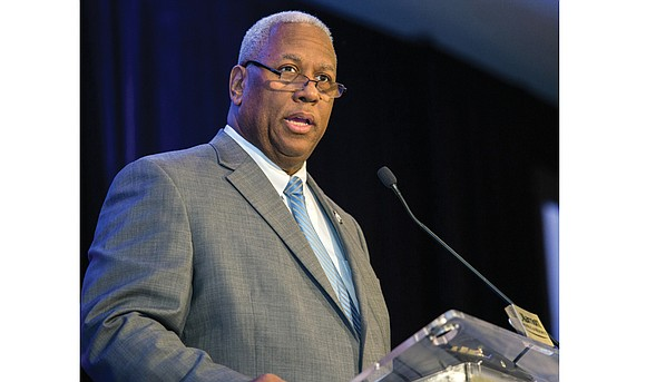 Congressman A. Donald McEachin got serious — and spiritual — very quickly last Friday as he launched his keynote address ...