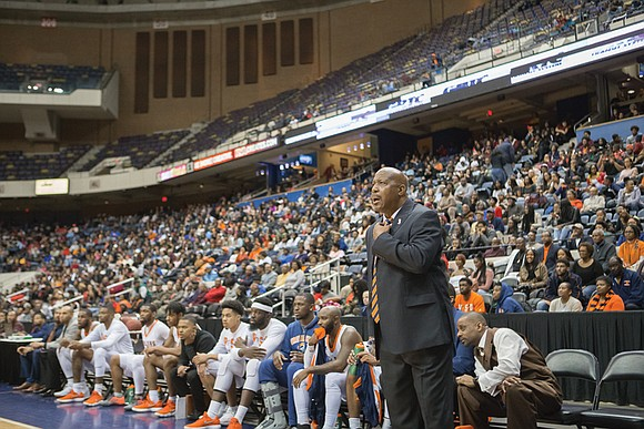 Trey Brown is a major reason why Virginia State University is enjoying perhaps its best basketball season in program history.