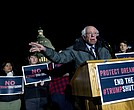 Sen. Bernie Sanders, I-Vt., speaks during a rally in support of the Deferred Action for Childhood Arrivals (DACA)von Capitol Hill, Friday, Jan. 19, 2018, in Washington. ( AP Photo/Jose Luis Magana)