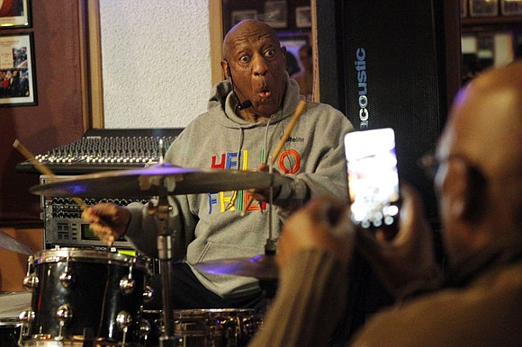 Bill Cosby performed in public for the first time since a sex abuse scandal embroiled him in 2015, joking that ...