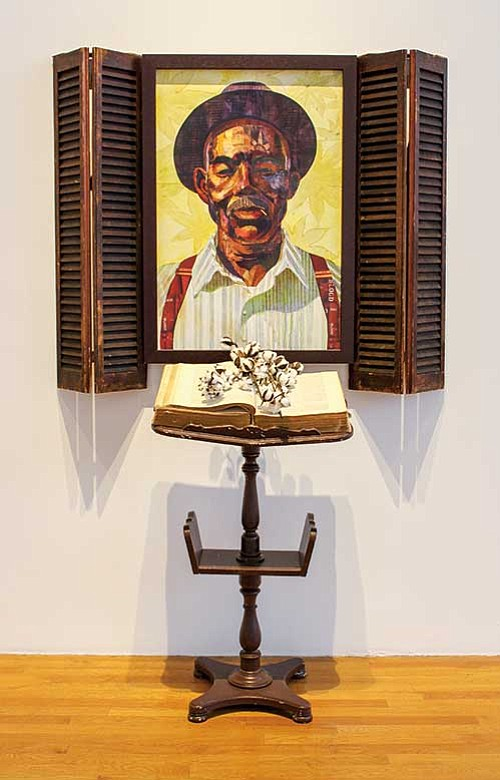 """""""Legacy of Cool"""" at the Massachusetts College of Art and Design pays tribute to Barkley L. Hendricks."""