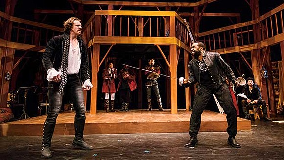 "Through Feb. 10, Speakeasy Stage Company will perform ""Shakespeare In Love"" at the Boston Center for the Arts. The 2014 ..."