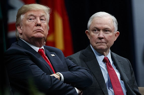 Attorney General Jeff Sessions was questioned for hours in the special counsel's Russia investigation, the Justice Department said, as prosecutors ...