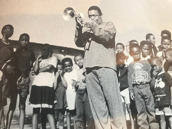 Hugh Masekela's trumpet, like his voice, was a relentless cry for freedom and liberation in his native South Africa.