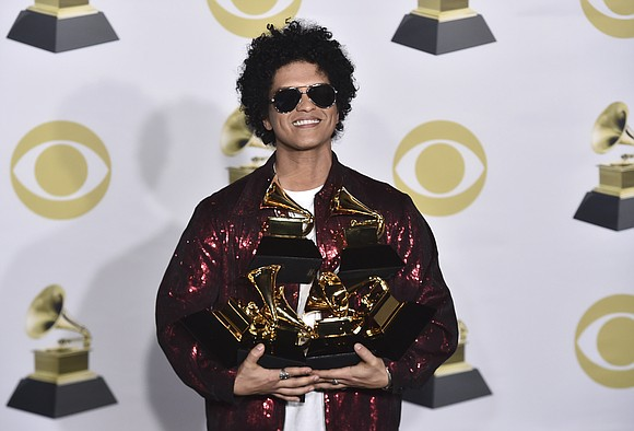 The Grammy Awards seemed poised to make this a triumphant year for rap at music's showcase event — until Bruno ...