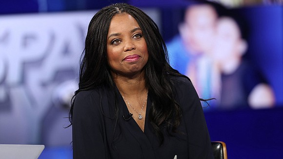 Black female ESPN anchor Jemele Hill, who sparked controversy last...