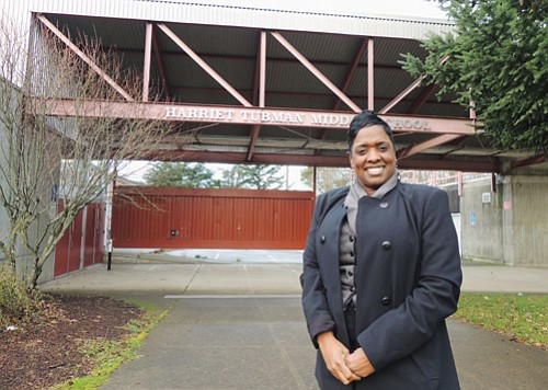 Deep community ties and a personal connection to the neighborhood helps Natasha Butler understand the needs as she plans for the reopening of Harriet Tubman Middle School. Butler is the planning principal for the north Portland school which is scheduled to open this fall.