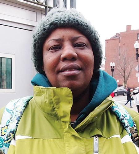 Finding a way to control rents. It's been out of hand for quite some time. They're putting up new buildings, but who's getting them? We need to bring back rent control.—Tarsha O'Neal, Environmental Services, Roxbury