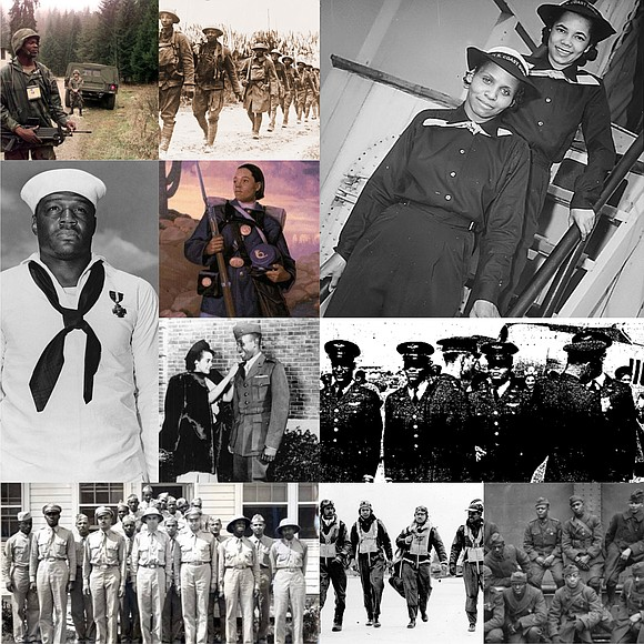 "This year's theme for Black History Month is ""African Americans in Times of War"" commemorating the centennial of the end ..."