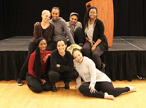 """""""For Colored Girls Who Have Considered Suicide/When the Rainbow is Enuf,"""" produced by Praxis Stage, opens at Hibernian Hall on ..."""