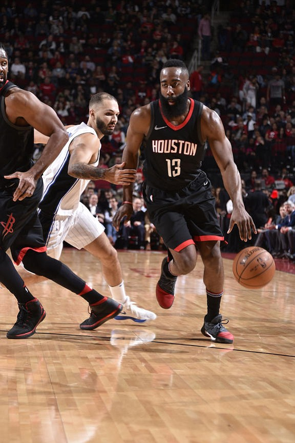 Harden pours in 60 points, 10 rebounds and 11 assists for the first 60 point triple double in history while ...