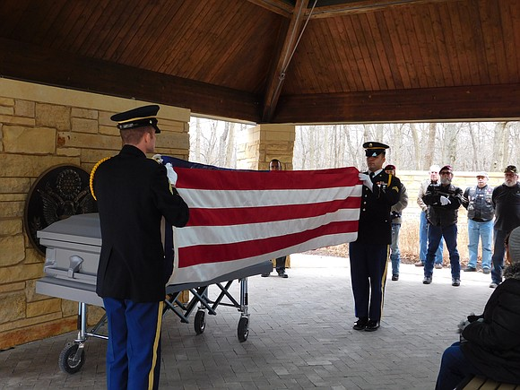 For homeless vets without family, area veterans serve as family and pall bearers at the ceremonies that are held in ...
