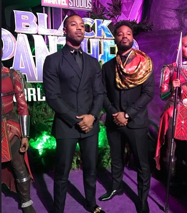 Micheal B Jordan and Ryan Coogler