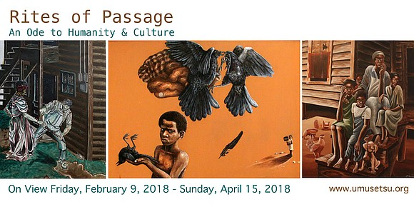 Rites of Passage: An Ode to Humanity & Culture is an exhibition celebrating the spirit of nature and human experience. ...