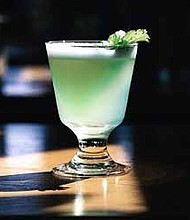 Garden Gimlet (pictured) was the special cocktail served to guests at the third annual Raise a Glass for Ray School fundraiser at The Promontory in Hyde Park. Photo Credit: Friends of Ray School PTO
