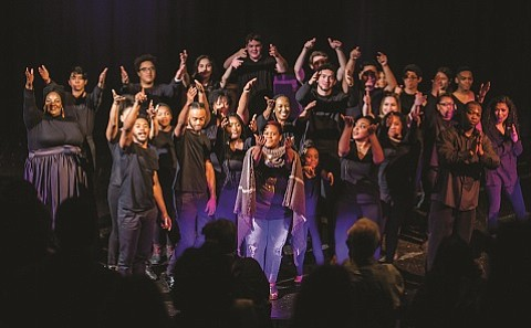 World Stage Theatre, a multi-cultural local organization committed to performances that inspire social reflection, hosts its first annual Black History ...