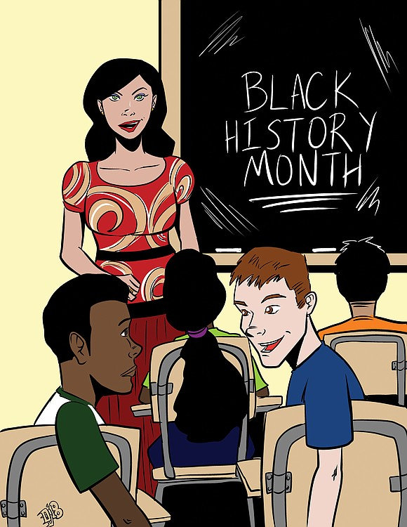 For years, every February is Black History Month in America. Indeed, not every state embraces with enthusiasm the annual dedication ...