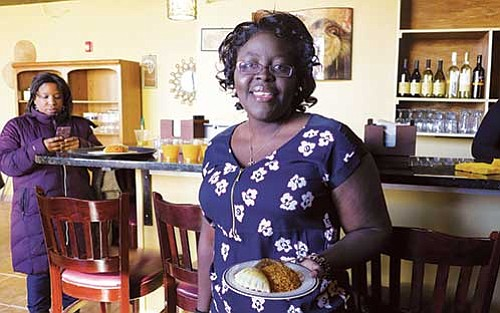 Cecelia Lizotte's Suya Joint hosted the kick off for the Black Restaurant Challenge.
