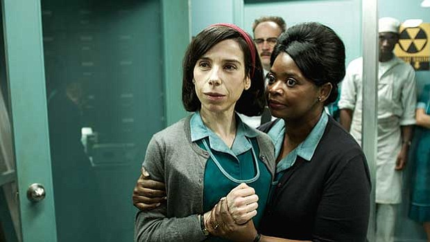 """Sally Hawkins and Octavia Spencer star in """"The Shape of Water."""""""