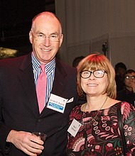 Mary McDonald, BAA Honors Leadership Circle (She is Jim's wife, but is also a member of our BAA Honors Leadership Circle) and James D. Supple, Vice Chair, Boston Arts Academy Foundation Board of Directors.