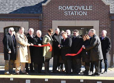 The newest addition to the Heritage Corridor Metra Line is now open in Romeoville following a ribbon cutting last week.