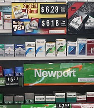 New Jersey legislation that would make it the first state to outlaw the sale of menthol cigarettes has advanced.— AP Photo/Bobby Caina Calvan