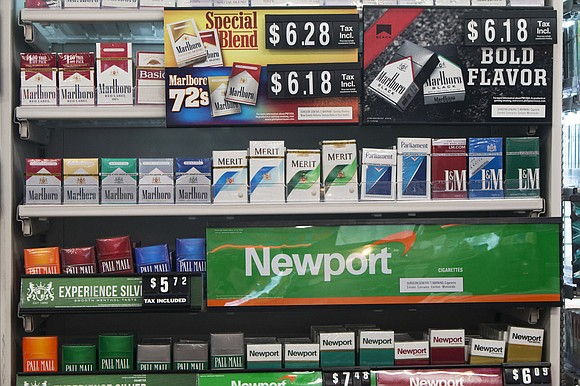 New Jersey could soon become the first state to outlaw the sale of menthol cigarettes.