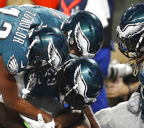 The Philadelphia Eagles won an epic shootout over the Patriots Sunday in Minneapolis, Minn. to win the franchise's first Super ...