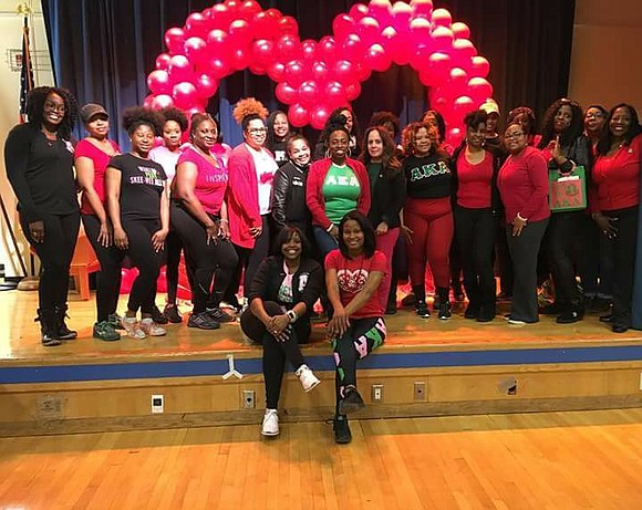Last Friday, the Delta Rho Omega Chapter of Alpha Kappa Alpha Sorority, Incorporated held its annual Brooklyn Go Red: Feel ...
