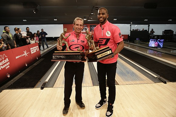 With the help of PBA Hall of Famer Norm Duke, Houston Rockets All-Star guard Chris Paul won his second consecutive ...