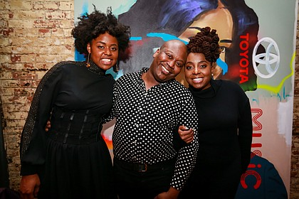 Victory Boyd, Tituss Burgess, and Ledisi