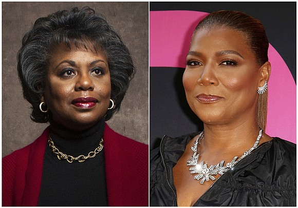 Queen Latifah and Anita Hill will give the commencement speeches at two Rutgers University campuses this year.