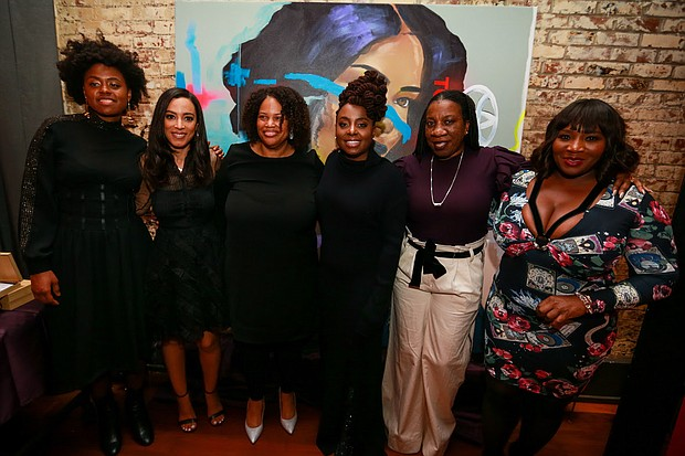 Victory, Angela Rye, Mia Phillips, Ledisi and Tarana Burke and Bevy Smith