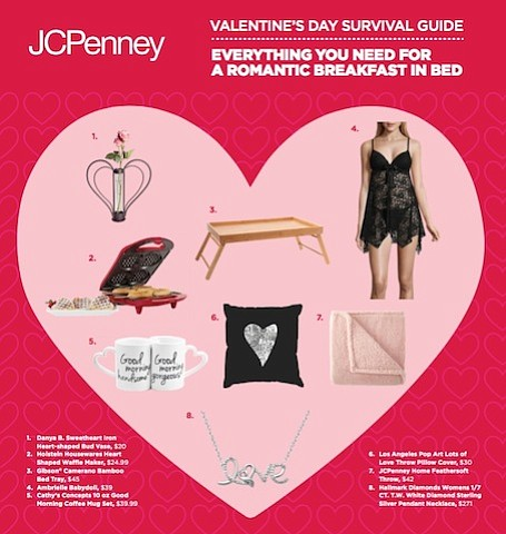 JCPenney is pulling out all the stops this Valentine's Day, from flowers to food, with the essentials for a romantic ...