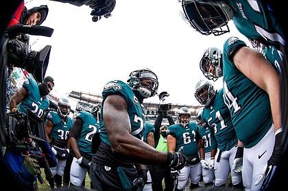 Philadelphia Eagles celebrate/credit Facebook Philadelphia Eagles