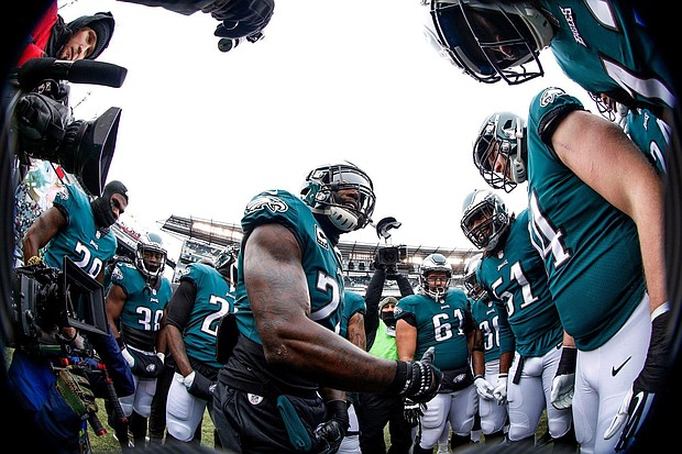 Philadelphia Eagles celebrate/credit Facebook Philadelphia Eagles