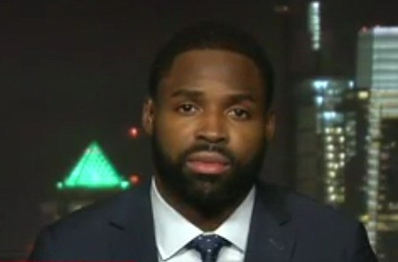 "Philadelphia Eagles wide receiver Torrey Smith told CNN Tonight Tuesday ""there are plenty of guys who said they do not ..."
