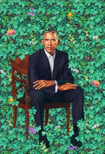With the unveiling Monday at the National Portrait Gallery in Washington D.C. of the official presidential likenesses of Barack Obama ...