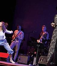 """Performers in Berklee's """"Black Gold"""" concert series."""