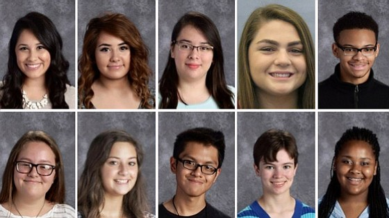 Las Escuelas Preparatorias de Joliet felicitan a los estudiantes del mes de enero del 2018