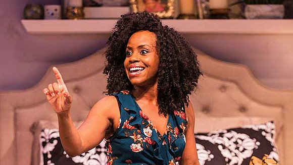 """Huntington Theatre Company's """"Bad Dates"""" begins with shoes. Hundreds of pairs of shoes stacked in single mother Haley Walker's bedroom. ..."""