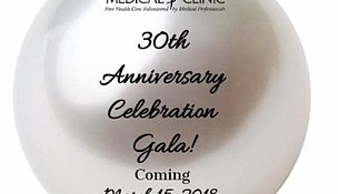 The Will-Grundy Medical Clinic will celebrate its 30th Anniversary in 2018 with a gala on Thursday, March 15, 2018.