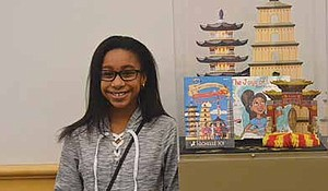 """15-year-old Author Nichelle Joi recently wrote her second book entitled """"The Mystery of the Missing Artifacts,"""" said she's inspired by Dr. Martin Luther King Jr. who's pictured in this 1964 photo. Photo Credit: Christopher Shuttlesworth"""