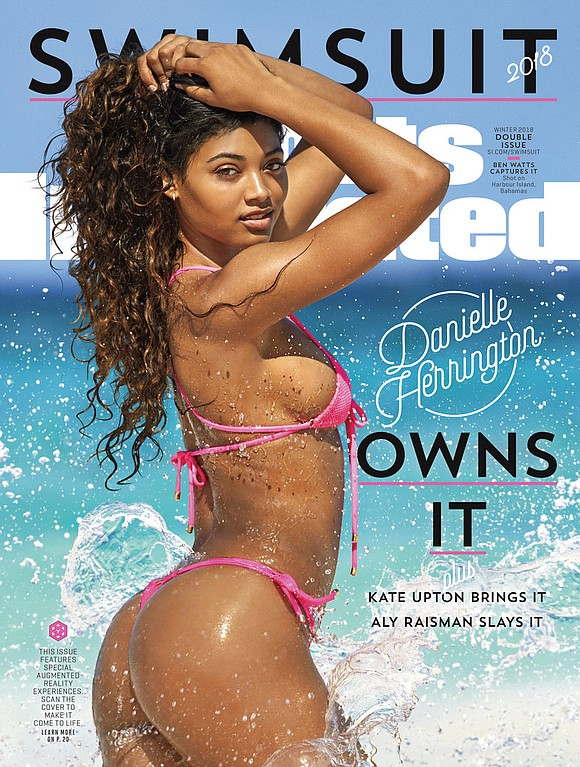 Danielle Herrington is the Sports Illustrated Swimsuit cover model for 2018.
