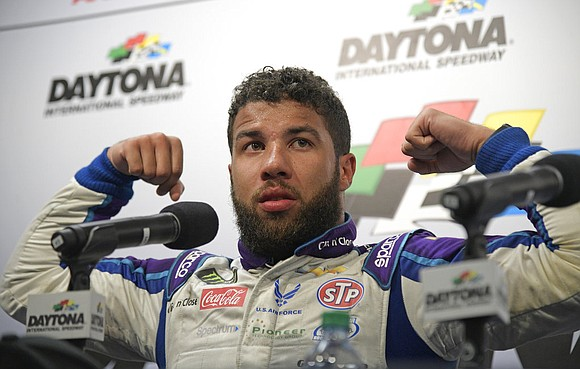 Darrell Wallace Jr. let the weight of his milestone in the Daytona 500 wallop him once he saw mom. He ...