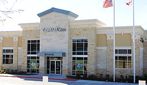 Capital One Bank branch in Austin.