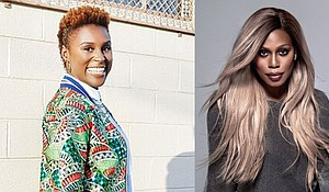 Issa Rae and Laverne Cox