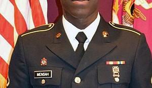 Private First Class Emmanuel Mensah