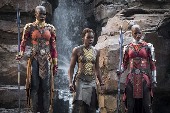 "Disney-Marvel's ""Black Panther"" is re-writing the record books, topping ""Star Wars: The Last Jedi"" for the second-highest four-day domestic opening ..."